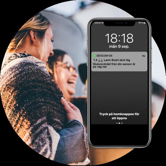 Dexcom G6 smart